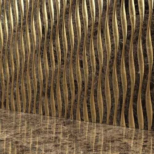 Baldosa para baño / para salón / de pared / de mármol LUXURY 5 by Raffaello Galiotto  Lithos Design