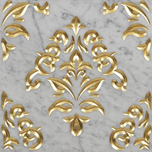 Baldosa para baño / para salón / de pared / de mármol LUXURY 6 by Raffaello Galiotto Lithos Design