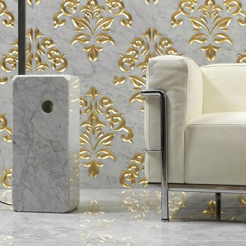 Baldosa para baño / para salón / de pared / de mármol LUXURY 6 by Raffaello Galiotto Lithos Design