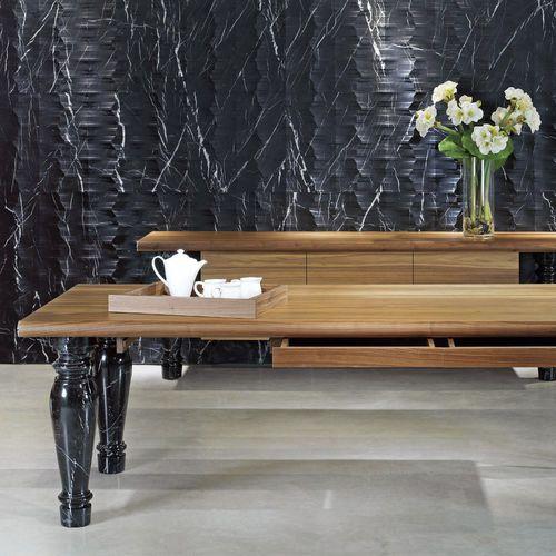 Fachaleta de piedra natural / de mármol / interior / 3D PALLADIO: RV3 by Raffaello Galiotto Lithos Design