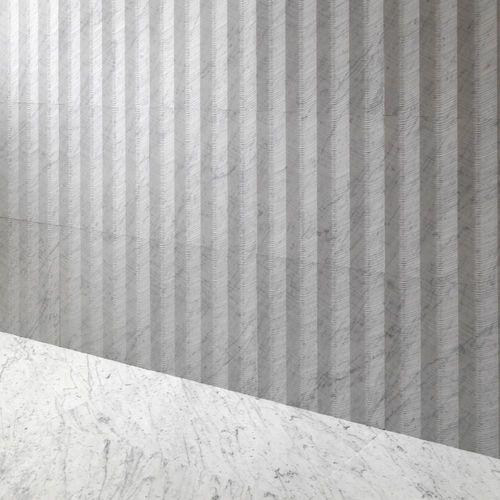 Panel decorativo de pared / para decoración interior / de piedra natural / de mármol PAGODA by Raffaello Galiotto Lithos Design