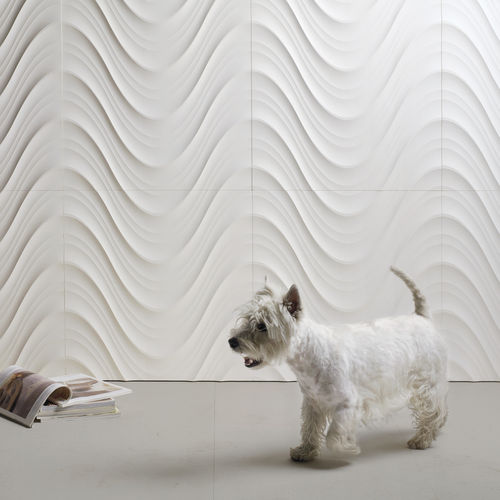 Baldosa de pared / de mármol / de piedra natural / con ondas SETA by Raffaello Galiotto Lithos Design