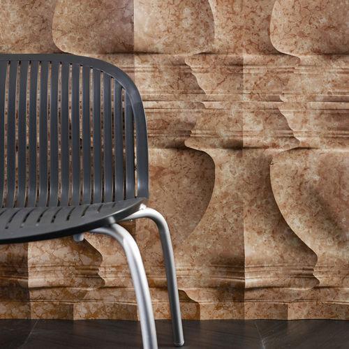 Fachaleta de piedra natural / de mármol / interior / 3D PALLADIO: RV6 by Raffaello Galiotto Lithos Design