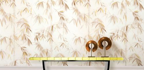 Papeles pintados clásicos / de algodón / con motivos de la naturaleza / pintados a mano BAMBOO FOREST II BuenaVentura