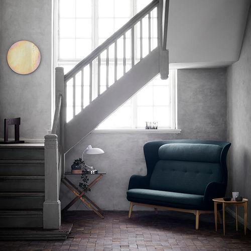 sofá moderno / de tejido / de roble / de Jaime Hayon