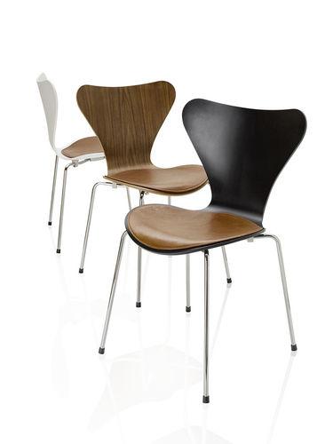 Cojin para silla / de cuero / de tela SERIES 7 by Arne Jacobsen Fritz Hansen