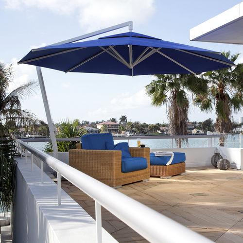 sombrilla lateral / profesional / para hotel / para bar