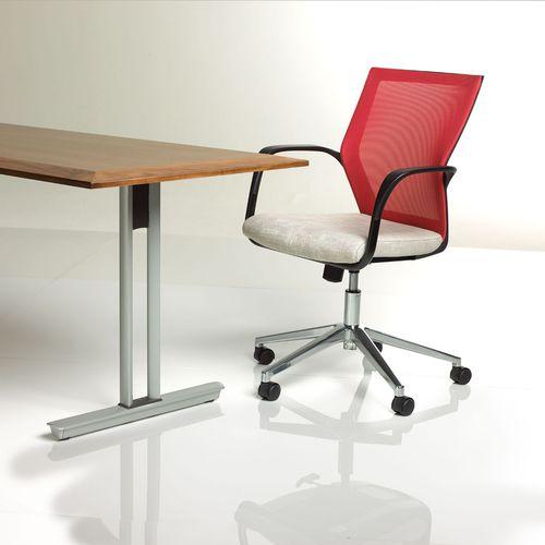 silla de oficina moderna / con ruedas / giratoria / con reposabrazos