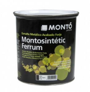 Pintura de protección / para puerta / para metal / de exterior MONTOSINTÉTIC FERRUM PINTURAS MONTO