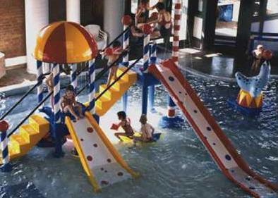 Torre de juegos para infantil para piscina pública 9409 AQUA DROLICS