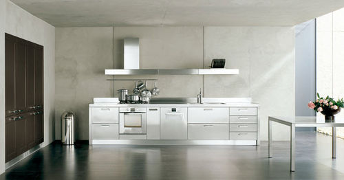 cocina moderna en acero inoxidable IRIDE copat