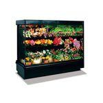 vitrina refrigerada de estantes / para comercio