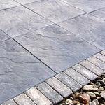 solería de hormigón / antideslizante / texturada / de exterior