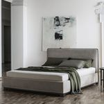 cama estándar / doble / moderna / tapizada