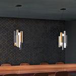 lámpara suspendida / moderna / de metal / de Plexiglas®