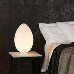 lámpara de cabecera / moderna / de vidrio soplado / escultura