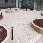 adoquín de clinker / para peatones / para espacio público / de exterior