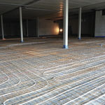 aislante de absorción acústica / para suelo radiante / de espuma / antivibración