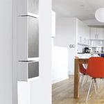 cuadro eléctrico mural / para uso residencial / equipado / con puertas