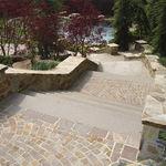 adoquín de piedra natural / de pórfido / antideslizante / de exterior