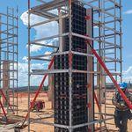 Encofrado de modulares / de metal / para muro / para columna DUO PERI S.A.S.