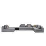 sofá modular / moderno / de tejido
