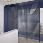 panel decorativo de resina / de pared / para tabique / de alta resistencia