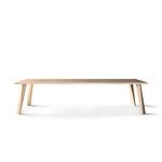 mesa de comedor moderna / de madera / rectangular / contract