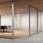 ventanal corredero / de metal / con vidrio doble