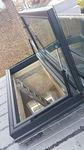 Trampilla de ventilación de metal / de vidrio / dispositivo de salida de humos y de calor  Cantifix