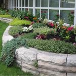 Borde para jardín / de piedra caliza / curvado ADAIR® General Shale