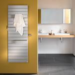 radiador toallero eléctrico / de metal / moderno / para baño