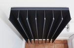 radiador toallero eléctrico / de acero inoxidable / moderno / para baño