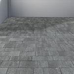 solería de hormigón / de piedra reconstituida / para peatones / de exterior