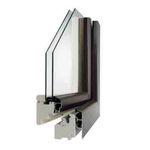 Ventana abatible / de aluminio / con vidrio doble 78SA COMECA GROUP