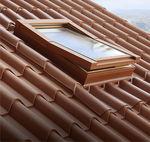 Tejado basculante / de acero / de aluminio / de madera LUCERNARIO TTCOPPO LATTONEDIL