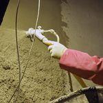 aislante de protección contra incendios / termoacústico / de vermiculita / para interior