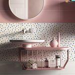 baldosa de pared / de cerámica / de color liso / con motivos geométricos