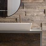 fachaleta de madera / interior / texturada / decorativa