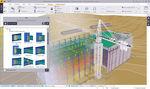 Programa Modelado de Información para Construcción BIM / para estructura de hormigón / para estructura de acero / para estructura de madera STRUCTURES TEKLA