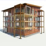 programa de gestión de proyectos / de gestión de obra / para estructura de madera / 3D