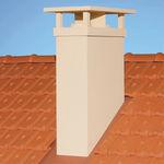 chimenea de tejado
