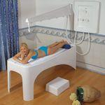 ducha Vichy / hidromasaje / de plástico / para centro de spa