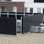 revestimiento de fachada de aluminio / acanalado / de panel / para fachada ventilada