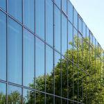 panel de vidrio flotado / de control solar / para ventana / para fachada