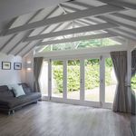 ventanal plegable / de madera
