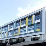 revestimiento de fachada de acero / pintado / sostenible