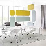 panel acústico para interiores / mural / de tejido / decorativo