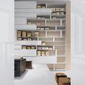 biblioteca moderna / de diseño minimalista / de pared - LINE design Daniele Lo Scalzo Moscheri