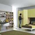 biblioteca moderna / de madera - GABLS125